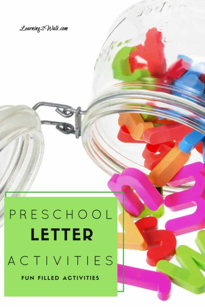 Looking for a few preschool letter activities that are fun filled for your kids? How about a messy sensory bin or a few alphabet puzzles? Try one of these to help your child with letter recognition.