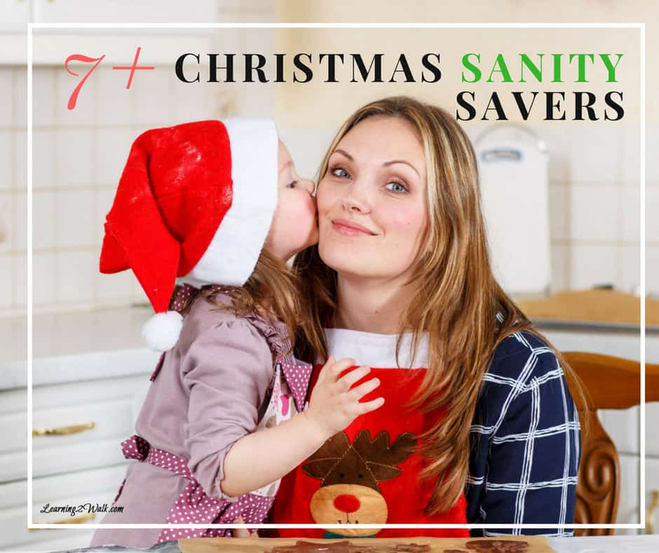 Christmas is approaching but that doesn't mean that you need to be stressed out. Try a few of these tips for yourself and activities with your kids.