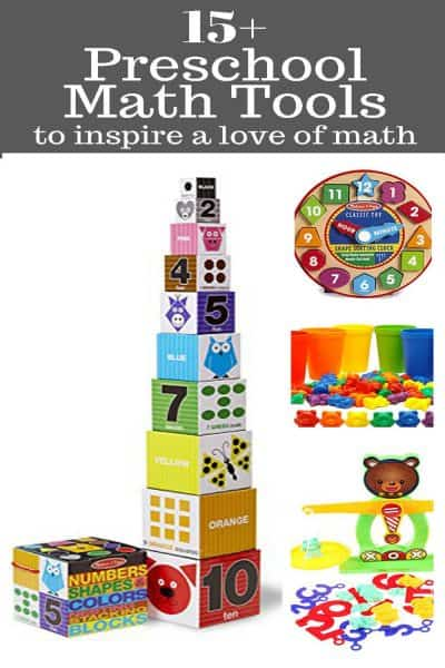 Fun Preschool Math Tools That Inspire A Love of Learning