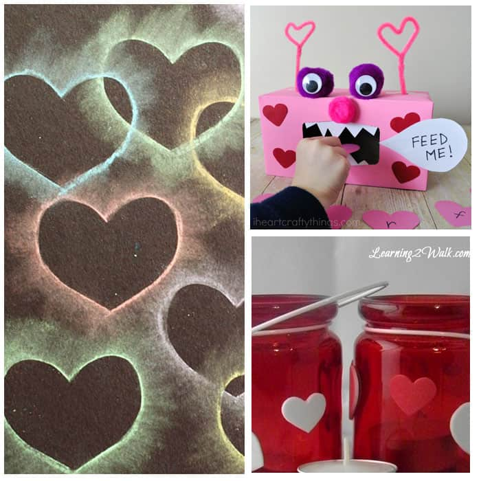 30+ Fantastic Valentine Activities For Kids: Crafts, Science, Sensory, Math and Literacy!