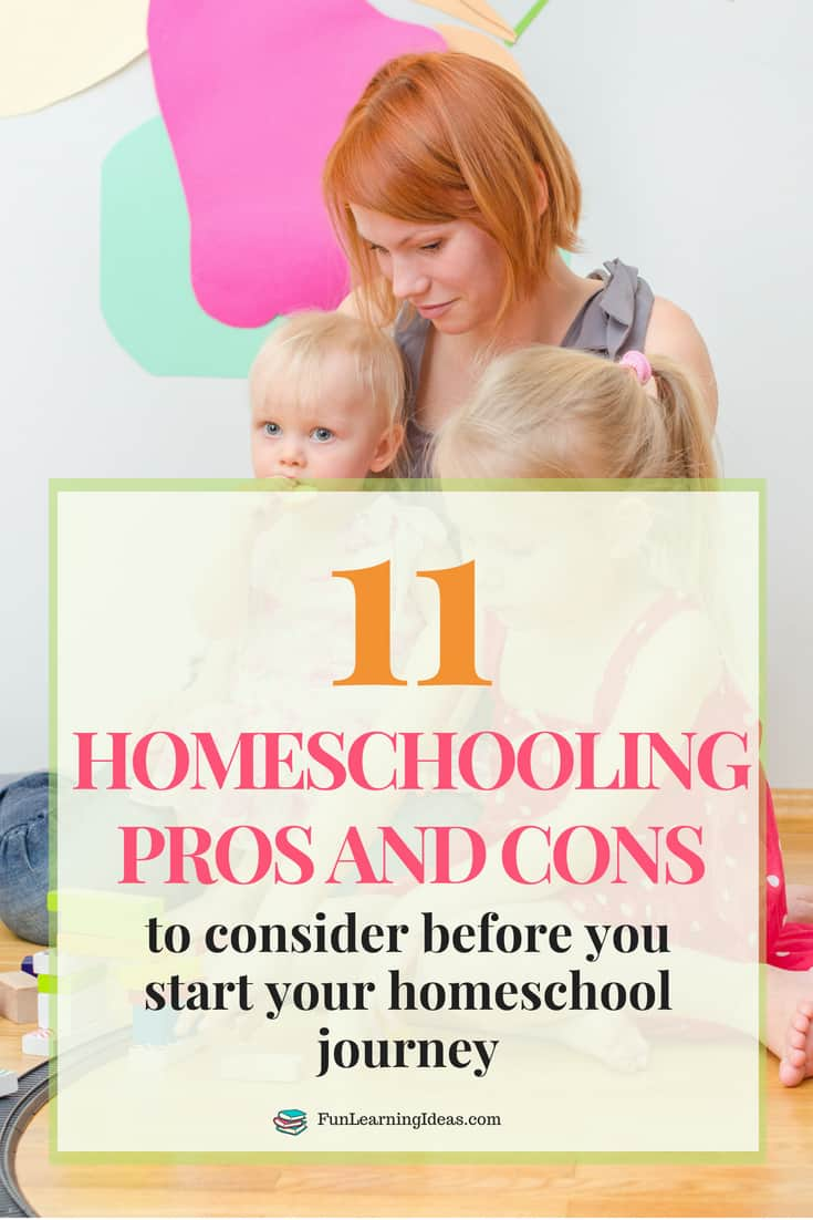 Are you at the stage where you are wondering how to start homeschooling with your kids? Then now is the time to think about the *homeschooling pros and cons*- the bitter and the sweet.