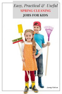 Who wouldn't accept extra help with Spring cleaning? Recruit your kids with these easy, useful and practical spring cleaning jobs for kids.