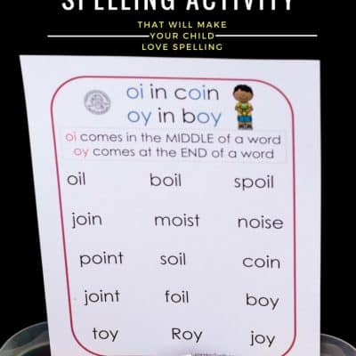 How to Teach Oi and Oy Words That Will Make Your Child Love Spelling