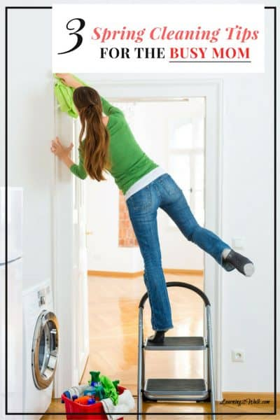 I get it. Life gets so busy that it makes your head spin. Before you start worrying about Spring cleaning, read these 3 spring cleaning tips for busy moms.