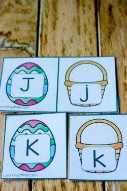 easter alphabet puzzles pin