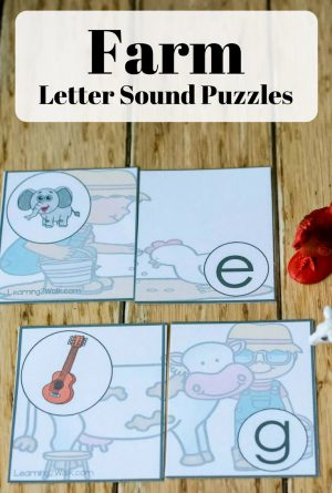 Fun and Easy Farm Letter Sound Activity