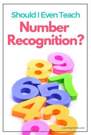 Should I Even Teach Number Recognition