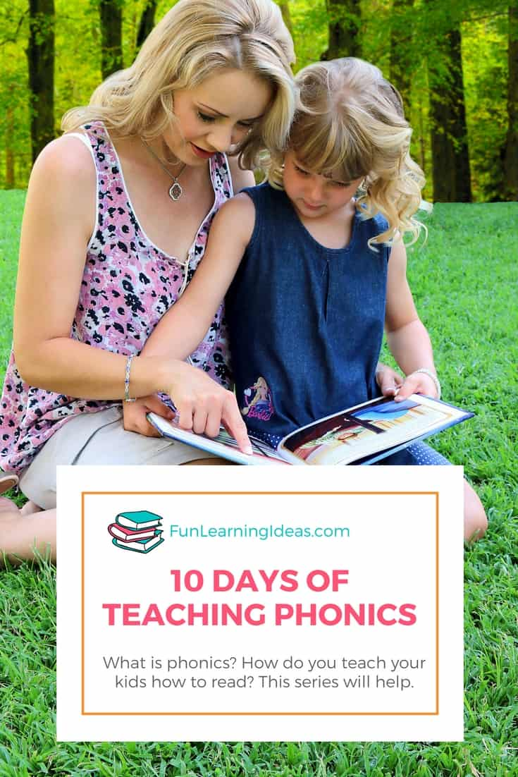 Ready to start teaching phonics to your kids? Then dig into this 10 day series!