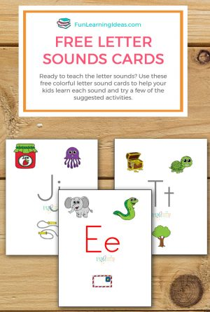 Free Letter Sounds Cards To Help Your Kids
