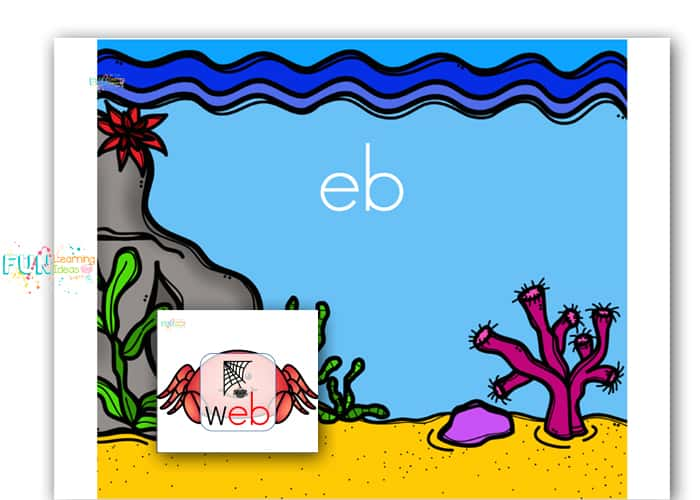 These colorful ocean animals short /e/ words worksheets are perfect for a beginning reader! Using short /e/ word families makes it easier!