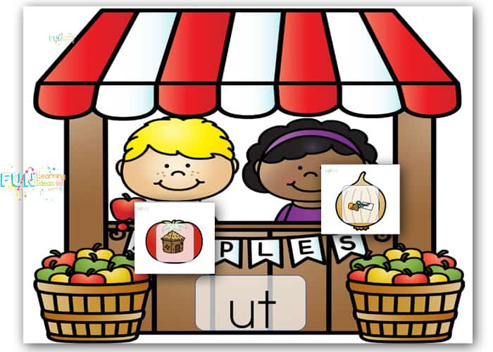 Allow your kids to play and learn with these free fruits and vegetables short /u/ words worksheets! Just print the sheets and play!