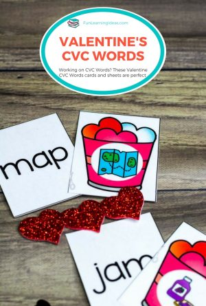 Valentine CVC Words