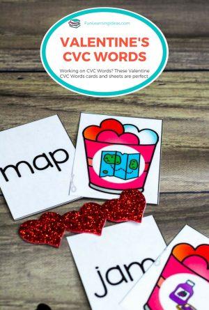 Valentine CVC Words