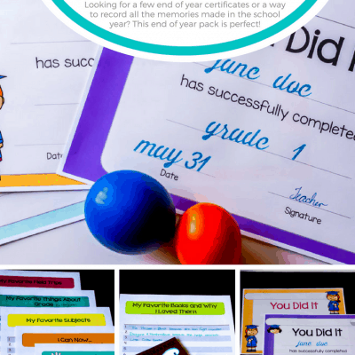 Free End of Year Certificates and End of Year Memory Pages