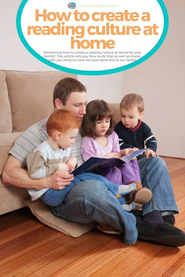 Wondering how to create a reading culture at home for your family? This article tells you how to do that as well as shares with you ideas on how we have done this in our family.
