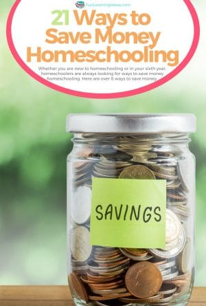 21 Ways to Save Money Homeschooling