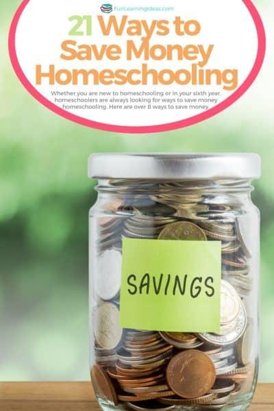 21 Ways to Save Money Homeschooling