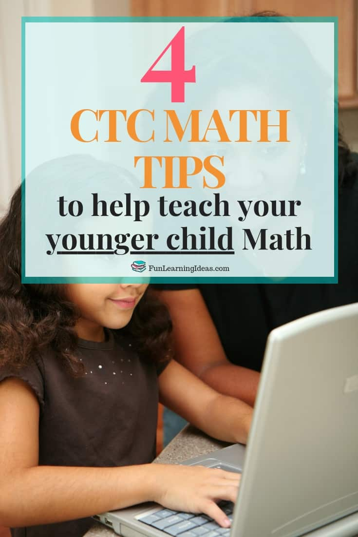 Teaching math to a younger child can be a tough. Luckily CTC Math helped out us with that. Here are 4 tips on how to teach a 5 year old math with CTC Math