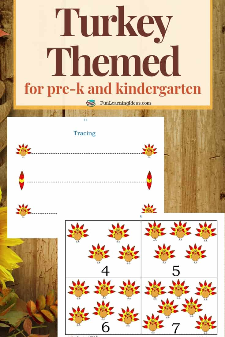 try this free turkey preschool printable with your kids this season