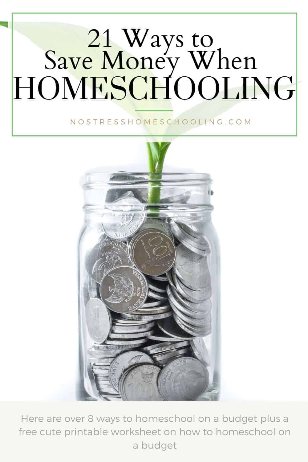image for 21 ways to save money when homeschooling