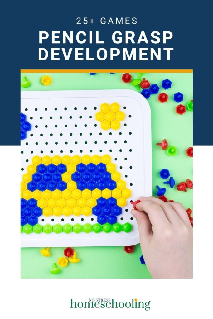 games for pencil grasp development and tools to help