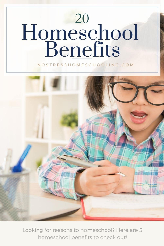 5 homeschool benefits picture