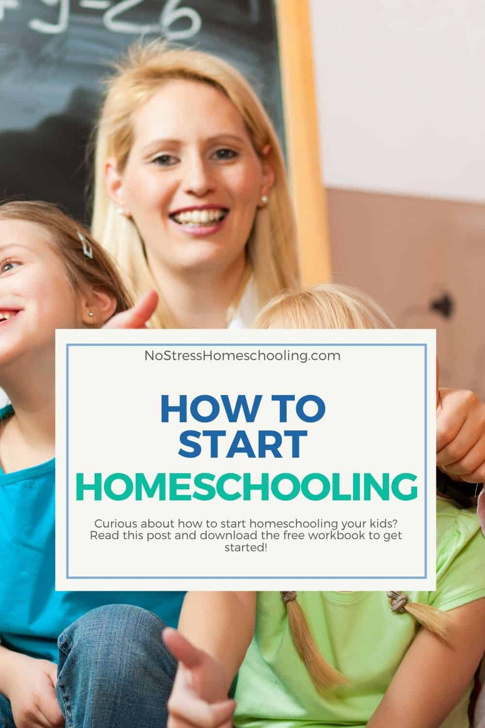 PIC SHOWING HOW TO START HOMESCHOOLING YOUR KIDS