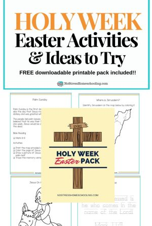 Holy Week Easter Activities and Ideas To Try