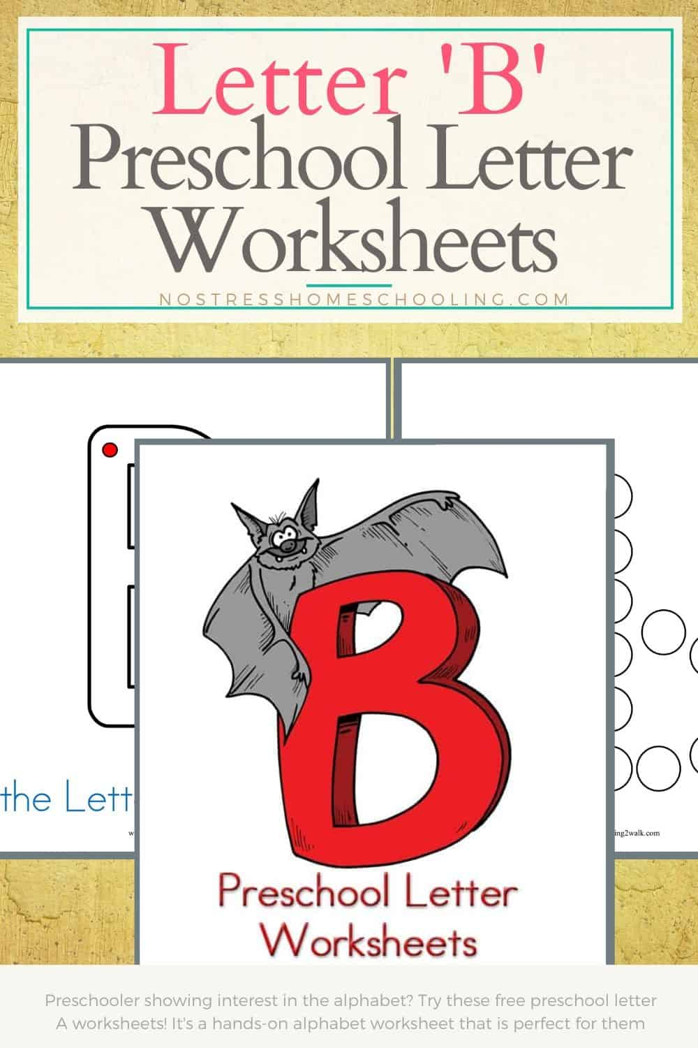 These preschool letter'b' worksheets are perfect for young learners!