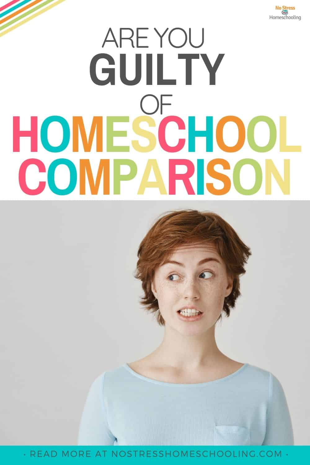 Guilty of homeschooling comparison? Here's how to solve this homeschooling problem
