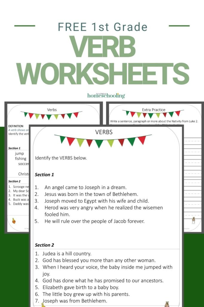 Free 3 Part Verb Worksheets