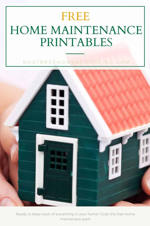 image of free home maintenance printables