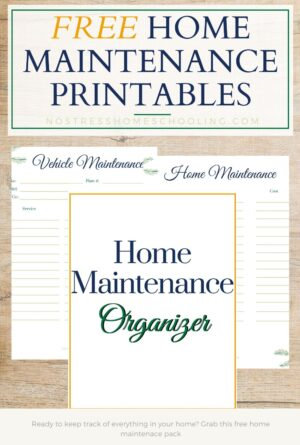 Using Free Home Maintenance Printables to Manage Your Home