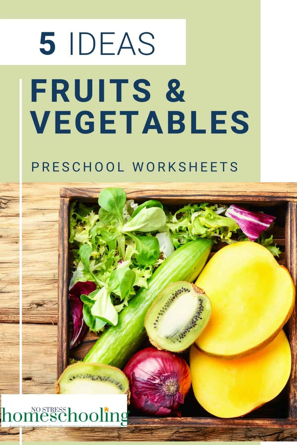 Looking for fruits and vegetables activities for your preschool theme Try a few of these activities