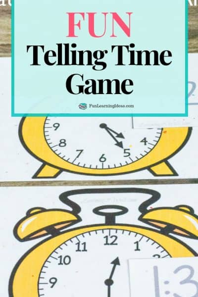 Looking for a fun telling time game for your kids? Use these analog and digital clock printable matching cards as a fun game for kindergarten and grade 1.