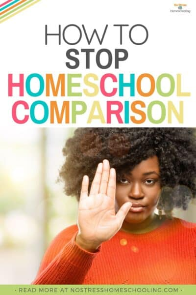 Homeschooling comparison is one of the biggest homeschool problems. Are you guilty of this? Here's how to solve it