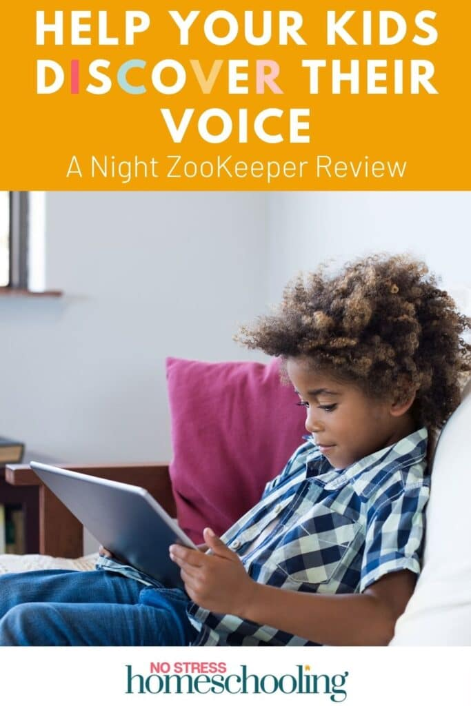 Help Your Kids Discover Their Voices-  A Night ZooKeeper Review image