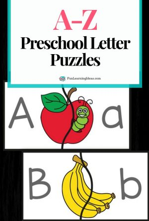 Preschool Letter Puzzles