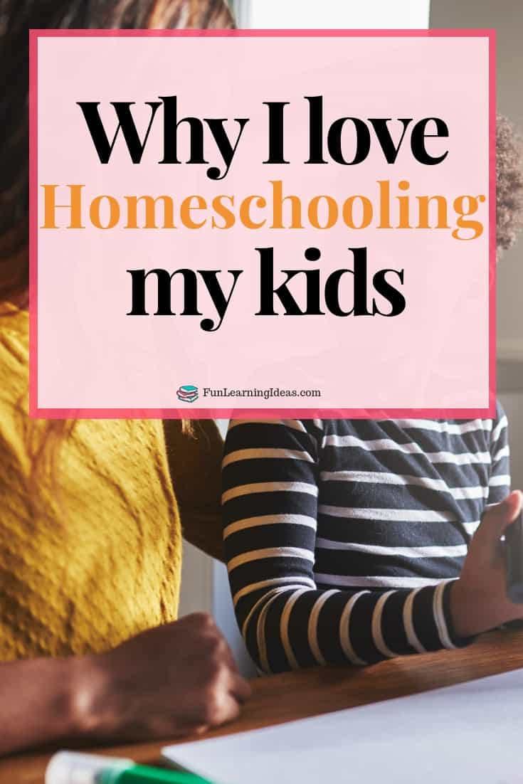 Ever wondered why some families choose to homeschool? How about the benefits of homeschooling? Here are just 5 reasons why I love homeschooling my kids. #homeschoolingbenefits #homeschoolbenefits